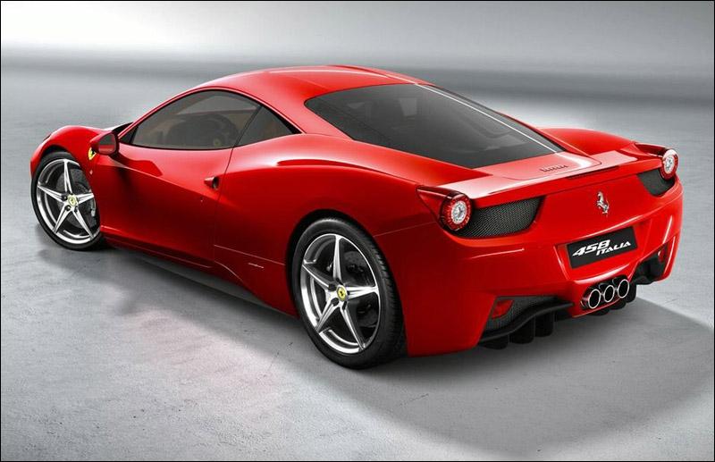 Quel est le modèle de cette Ferrari ?
