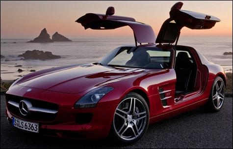 Quel est le modèle de Mercedes présenté ici ?