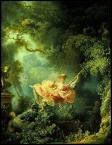 Quel peintre né à Grasse en 1732 est l'auteur de la toile  L'escarpolette  ?