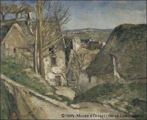 Dans quelle ville du sud de la France Paul Cézanne auteur de la toile  La maison du pendu  est-il né en 1839 ?