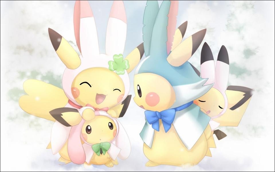 Et pour finir cette saison, que porte la Pikachu-femme sur son oreille ?