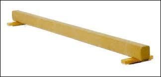 De quelle largeur est la poutre ?