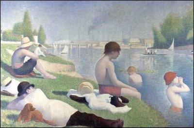 La baignade à Asnières, 1884