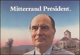 Même question que précédente pour les années Mitterrand.
