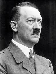 Allemagne, Hitler chancelier en :