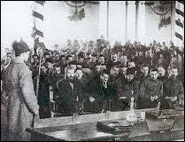 En URSS, grand procès de Moscou :