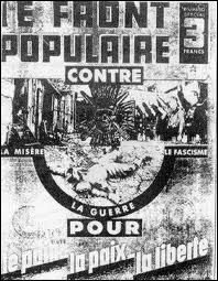 En 1936, un parti politique arrive au pouvoir; qu'instaure t-il ?