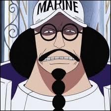 C'est l'amiral en chef de la marine, ... .