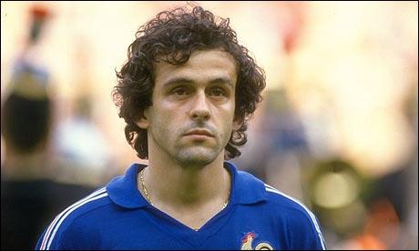 Grand joueur de football Français...