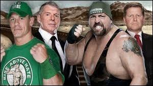 Qui a été viré suite au match John Cena contre Big Show dans un Steel Cage match ?