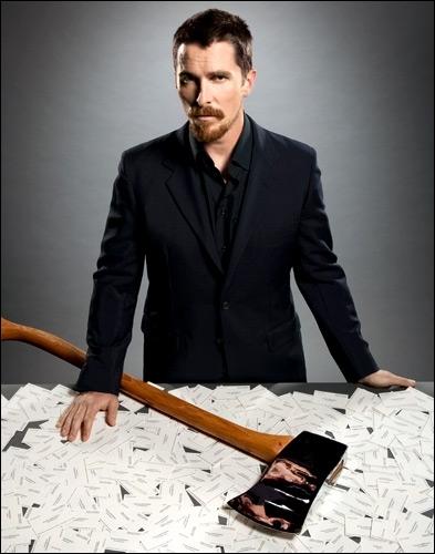 Christian Bale semble avoir gardé la nostalgie de ce film, où il était Patrick Bateman !