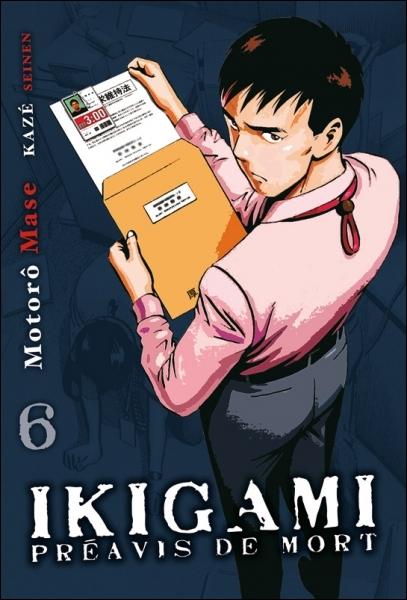 Quel est l'éditeur d'Ikigami au Japon ?