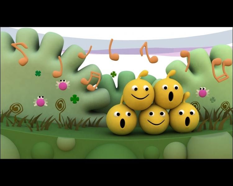 Bienvenue au pays des smileys, nous sommes en train de ______ une chanson