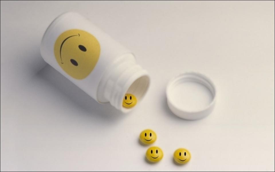Une petite _____ de smileys