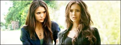 Que dit Katherine à Elena lorsqu'elles se rencontrent pour la première fois ?