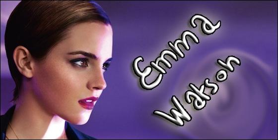 Emma est la marraine d'un parfum de Lancôme. Lequel ?