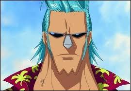 Quel est le nom de ce cyborg, que les pirates rencontrent à Enies Lobby, sachant qu'il est charpentier, c'est lui qui a construit le Thousand Sunny ?