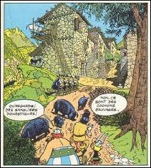 Cette image provient de l'album  Astérix en Corse .