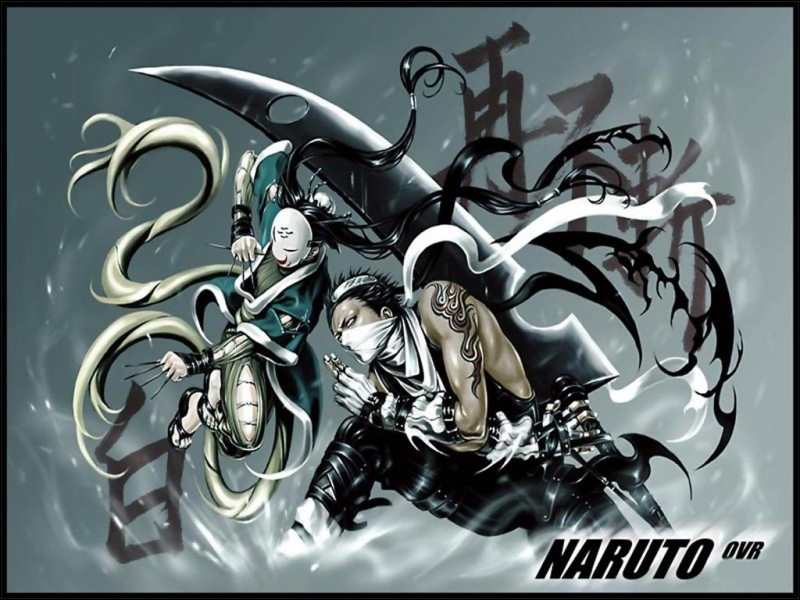 Zabuza et Haku font-ils partie du manga Naruto ?