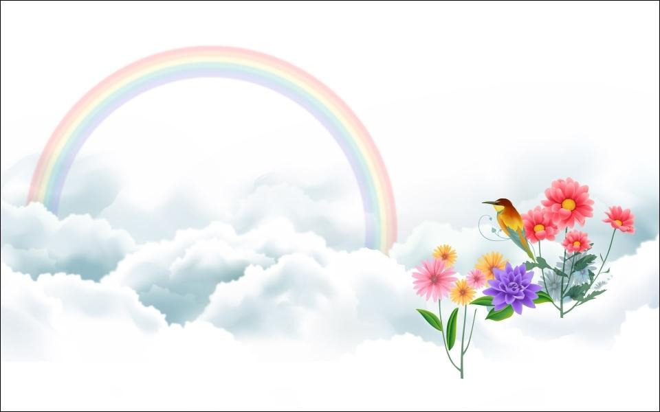 Combien y a-t-il de couleurs dans cet arc-en-ciel ?