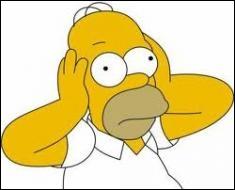 Pourquoi ou comment Homer est-il devenu chauve ?