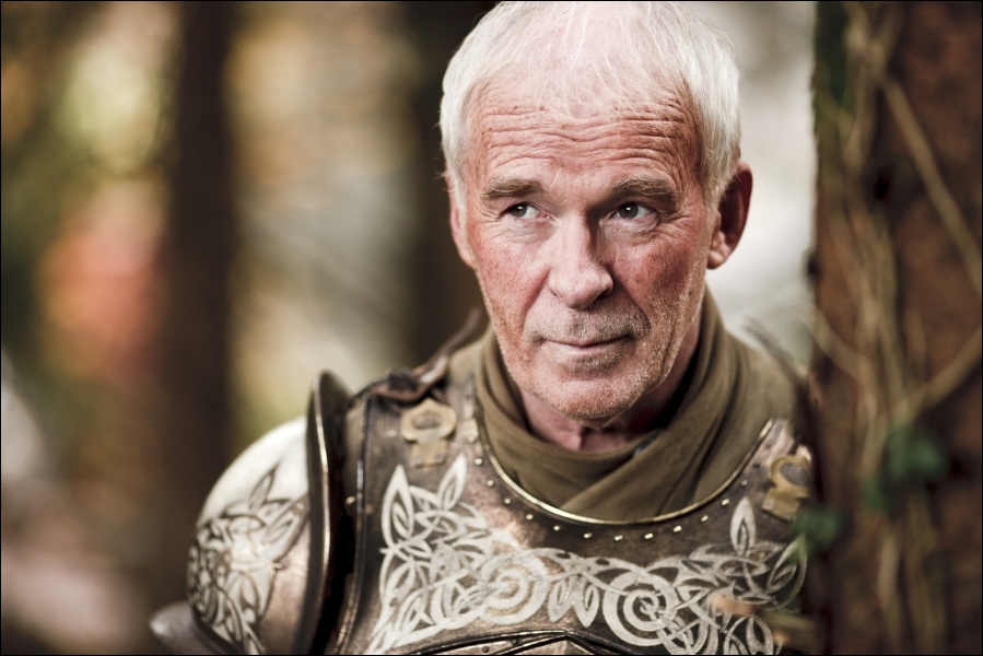 Cet homme est l'un des plus grands chevaliers de son temps, malgré son âge avancé. C'est d'ailleurs pour cela que, sous le règne de Robert Baratheon, il est membre de la Garde Royale. Qui est-il ?