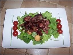 La salade de gésiers est une entrée ...