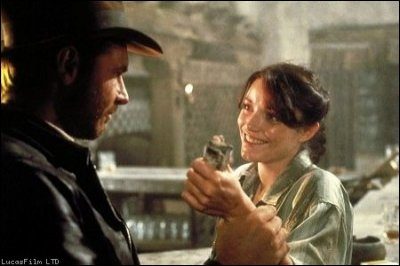 Remettez les paliers dans l'ordre pour trouver le titre de ce film où l'on peut suivre les aventures de Marion et de Henri Walton. Qui en est le réalisateur ?