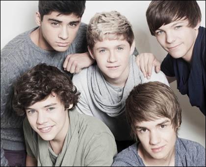 Quel membre de One Direction n'apparaît pas sur cette image ?