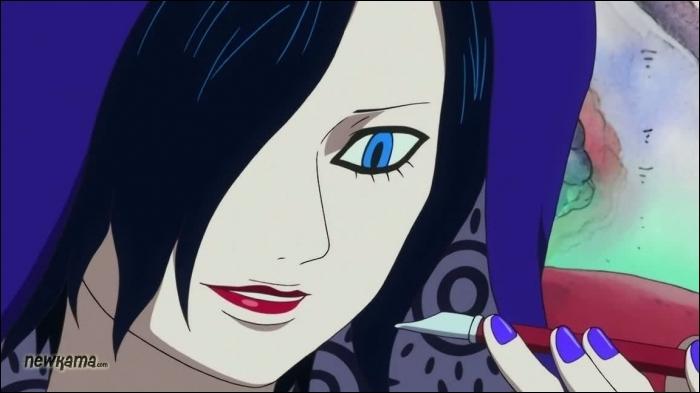 Cette voyante est la sœur d'Arlong, je veux bien sûr parler de …