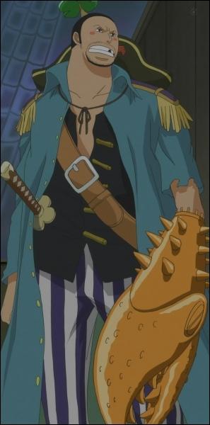Comment s'appelle ce pirate à la pince de crabe qui se fait tuer par Hody Jones ?