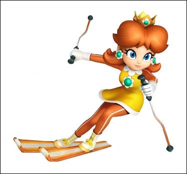 Du monde de Mario, voici la belle princesse de Sarasaland, qui aime autant ses sujets que les marguerites. On lui aurait attribué une histoire d'amour avec Luigi, cependant Nintendo reste flou...