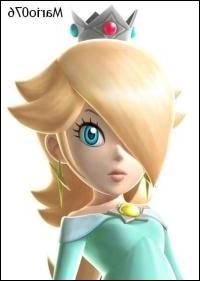 La splendide princesse des Etoiles, qui vit dans la galaxie, et considère les lumas comme ses enfants. Après une apparition dans Mario Galaxy 1 et 2 elle a été un personnage de Mario Kart...