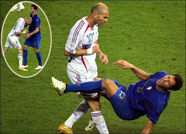 2006 - Materazzi, avant d'essuyer le coup de boule de Zidane, aurait dit à ce dernier : « Je préfère ta putain de sœur. » Comment a-t-on pu le savoir sans enregistrement ?
