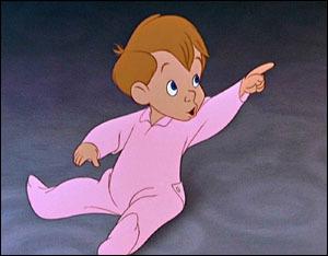 Comment s'appelle le dernier né des Darling dans Peter Pan ?