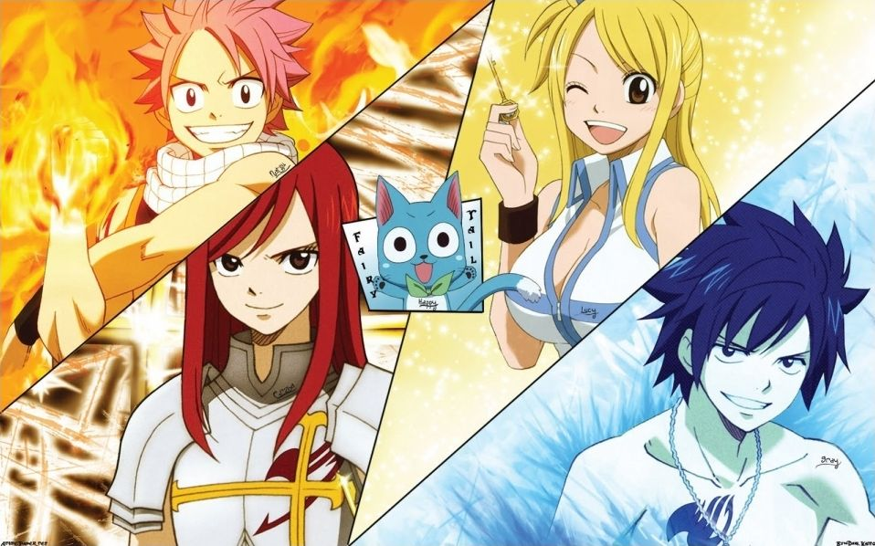 Fairy Tail & Naruto