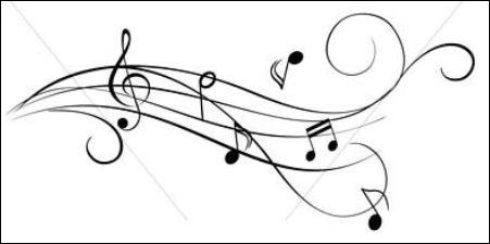 Au même moment, on peut entendre une musique. Quelle est cette mélodie ?