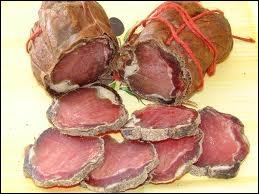 Quelle est cette charcuterie faite à base de filets de porc ?