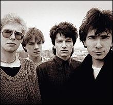 Parmi les chansons suivantes, laquelle n'est pas du groupe U2 ?