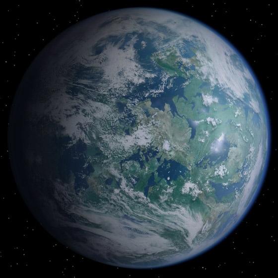 Sur quelle planète grandit Léïa ?