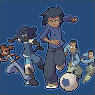 Dans la saison 1, les Bleus ont remporté la première Coupe du monde; les joueurs étaient : Tag, Eloïse, Gabriel et ...