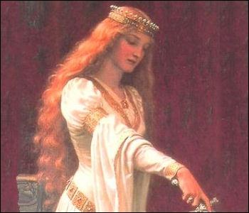Elle fut reine de France et après reine d'Angleterre et elle favorisait l'expression des troubadours à la cour... pour vous aider son nom est repris par une quizzeuse...