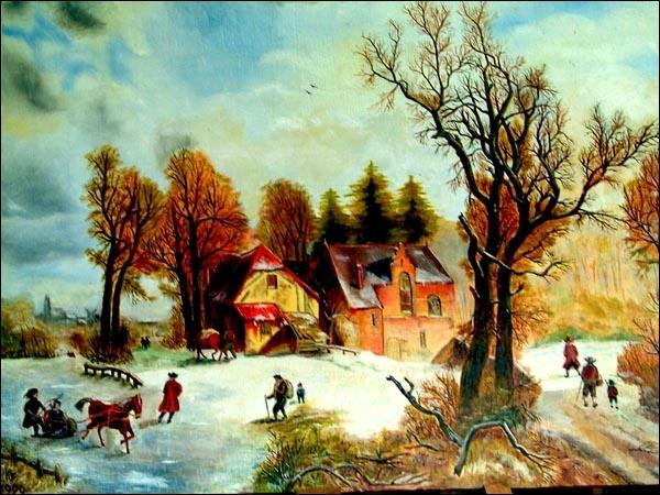 Au XVIIe siècle, en peinture, on avait recours à un élément pour fabriquer une mixture qui, mélangée avec l'huile et les couleurs, constituait un glacis d'excellente qualité. Il s'agit...