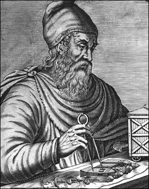 Archimède, le célèbre mathématicien, est connu pour sa théorie dite  de poussée d'Archimède  mais qu'a-t-il aussi inventé ?