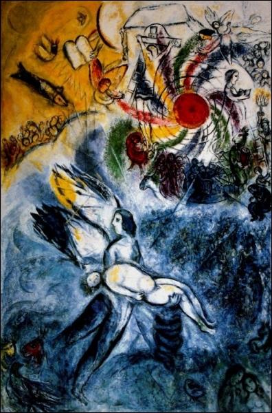 Qui a peint  La création de l'homme  ?