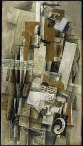 L'homme à la guitare  de Georges Braque est une oeuvre :