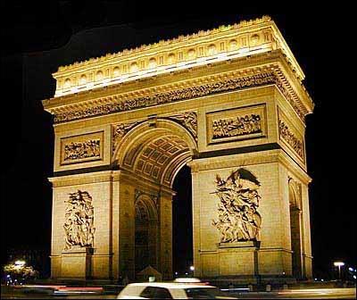 Quel monument peut-on retrouver au bord de cette avenue ?