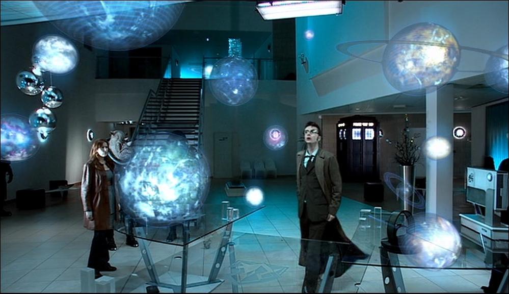 Sur quelle planète sont le doctor et Donna ?