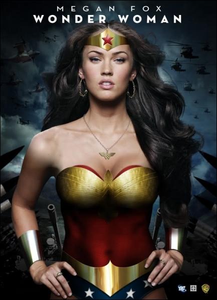 Reprenant le rôle de Wonder Woman, Megan Fox prend la suite de ...