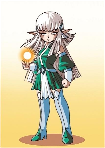 Quels sont les éléments que Shimy contrôle en tant qu'elfe élémentaire ?